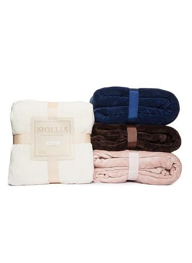 Mollia Soft Touch Tek Kişilik Battaniye Krem